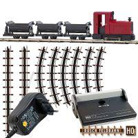 Feldbahn Start-Set mit Kipploren und Netzgerät