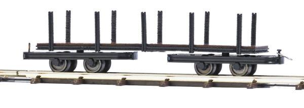 Drehgestell-Rungenwagen