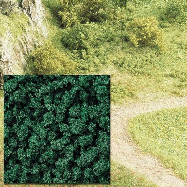 Schaumstoff-Flocken dunkelgrün