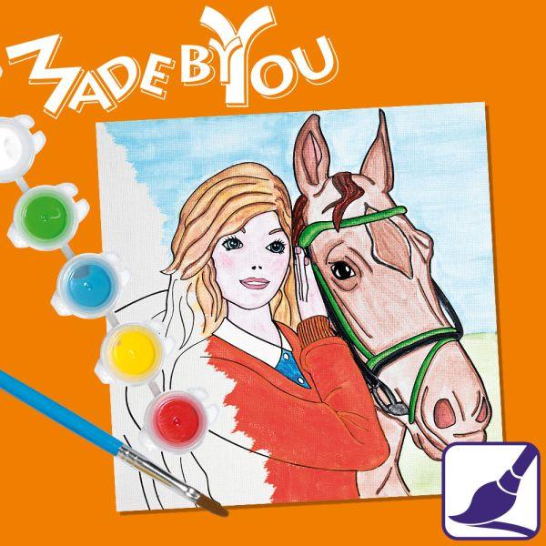 Pferdefreunde Bild Zum Ausmalen Bastelartikel Made By You