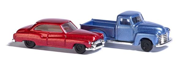 Chevy Pick-up und Buick
