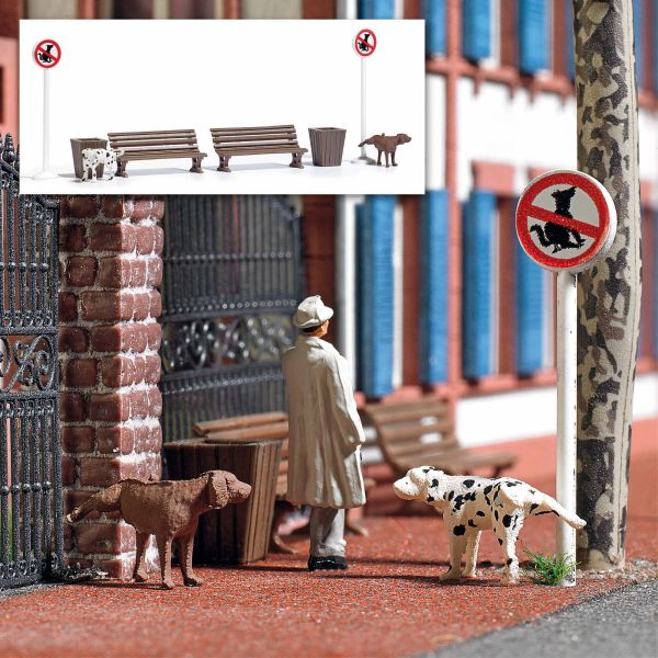 Action Set: Pinkelnde Hunde