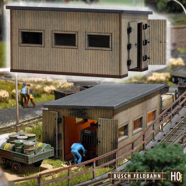 Feldbahn Lokschuppen