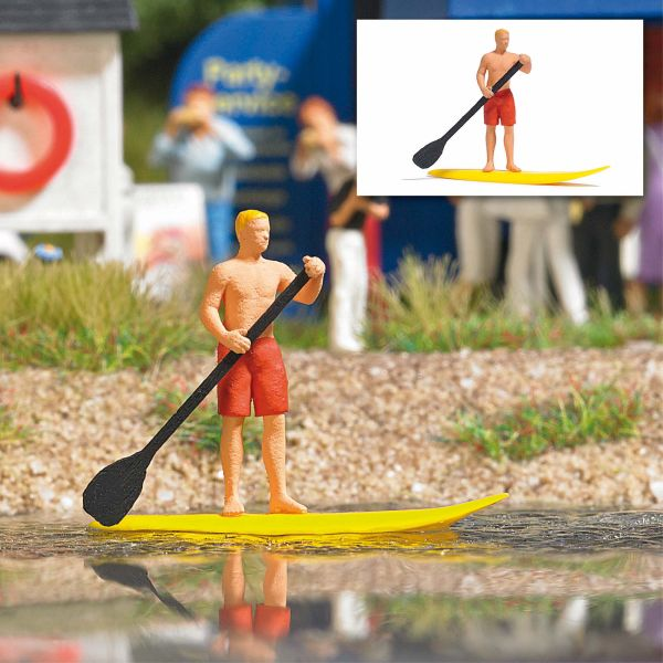 Action Set: Stand Up Paddling