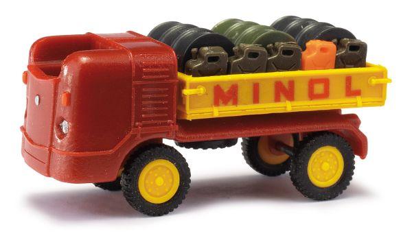 MH: Multicar M21 mit Fassladung »Minol«