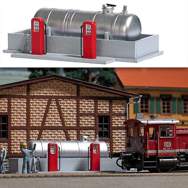 Tankstelle für Bahnbetriebswerk