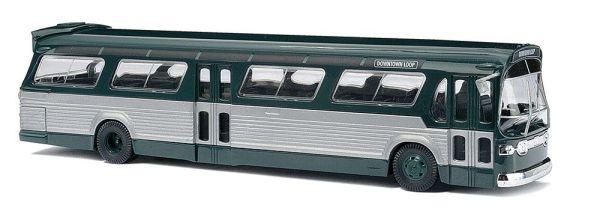 Amerikanischer Bus »Fishbowl«, grün