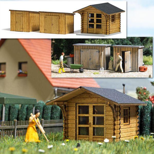 Gartenhaus und Schuppen