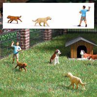 Action Set: Apportierspiel mit Hunden