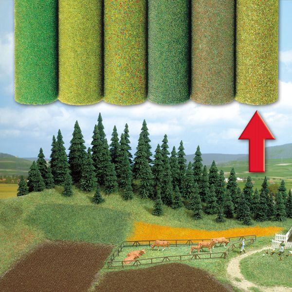 Gelände-Teppich Vierfarbig, gemischt