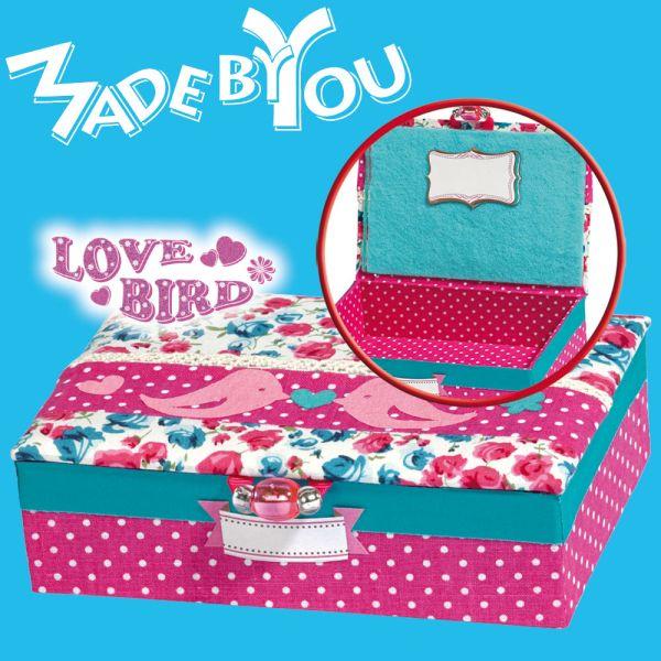 Schmuckbox »Love Bird« selbst gestalten
