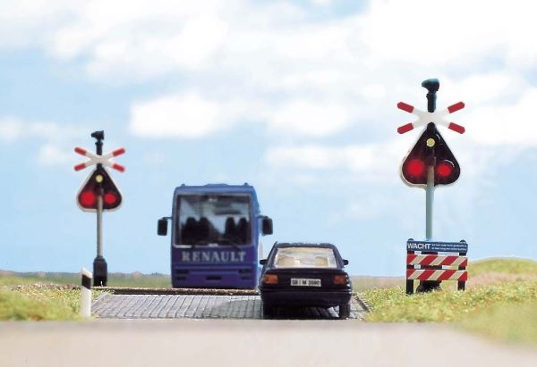 Bahnübergang Holland