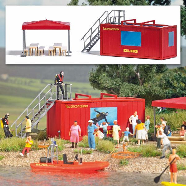 DLRG Tauchcontainer