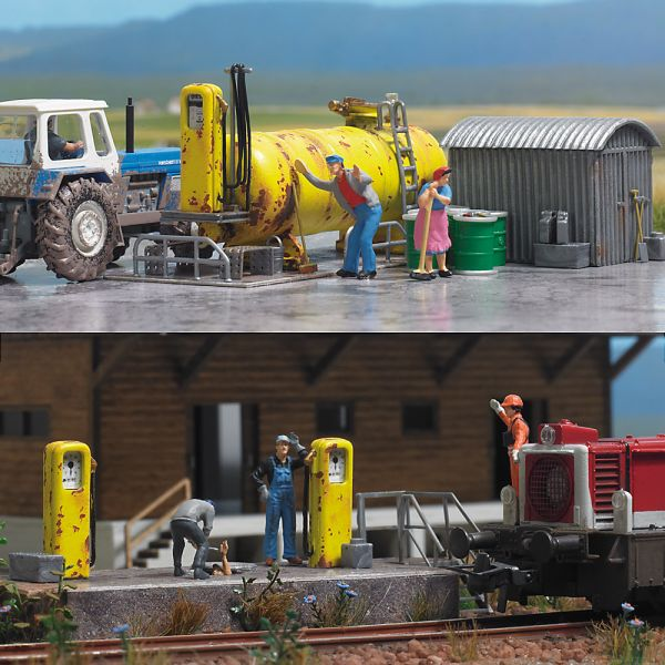 Diesel-Tankstelle