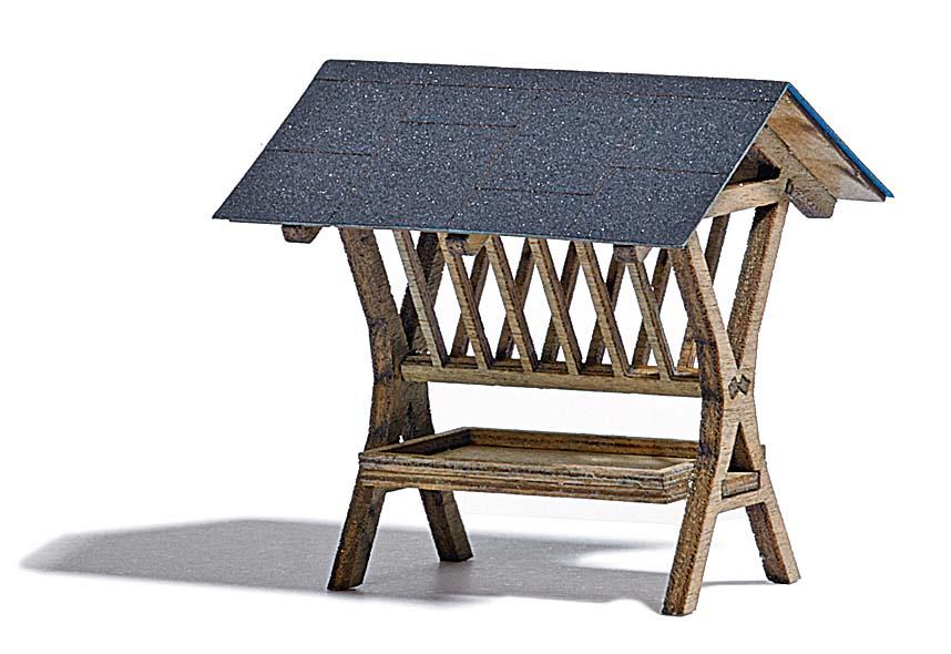 futterkrippe ausgestaltung f r wald park ausgestaltung b ume katalog modellbau busch. Black Bedroom Furniture Sets. Home Design Ideas