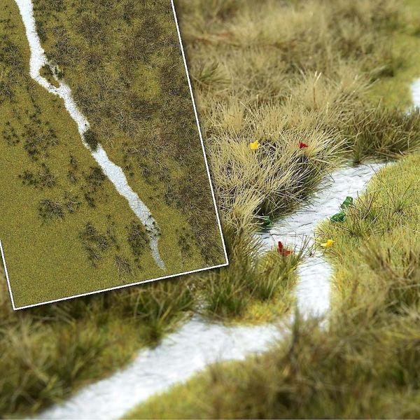 »Groundcover«-Bodendecker: Flusslandschaft