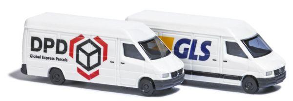Paketdienstfahrzeug-Set