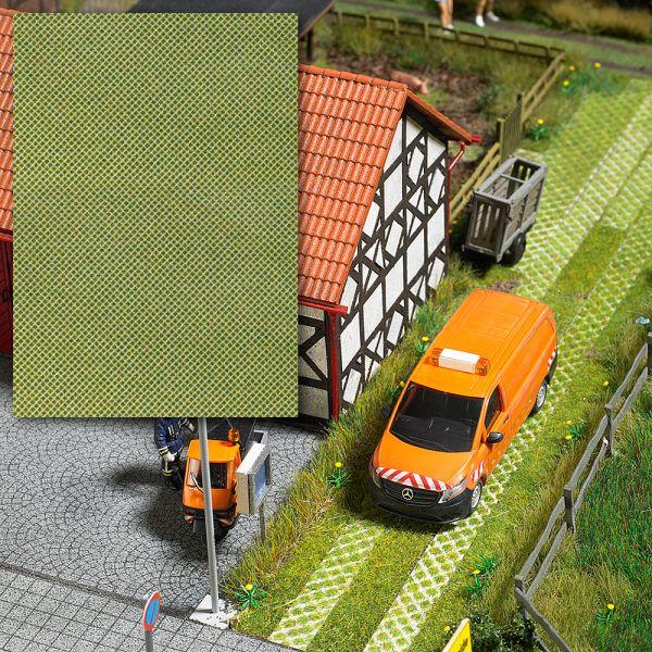 3-D-Dekorplatte »Rasengittersteine«