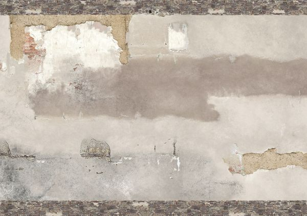 2 Dekoplatten »Verwitterte Mauer«