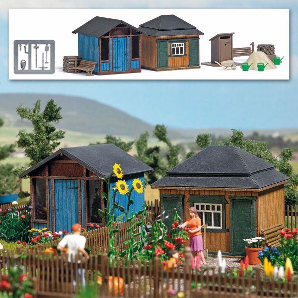 Gartenlauben Set 2