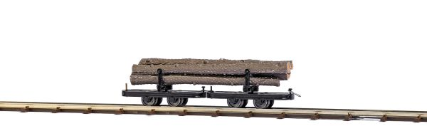 Drehgestell-Langholzwagen
