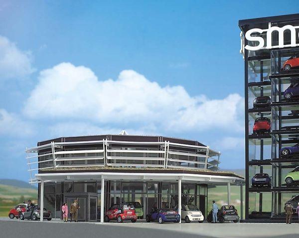 Smart Verkaufsgebäude
