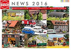 BUSCH Katalog Modellbau 2016