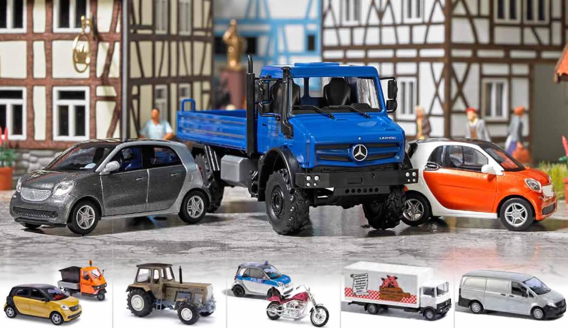 BUSCH Automodelle