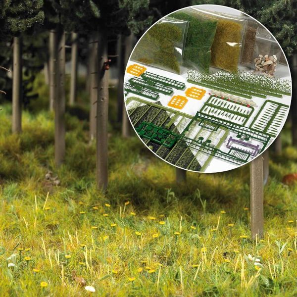 Starter-Kit: Bodengestaltung Wiese & Wald