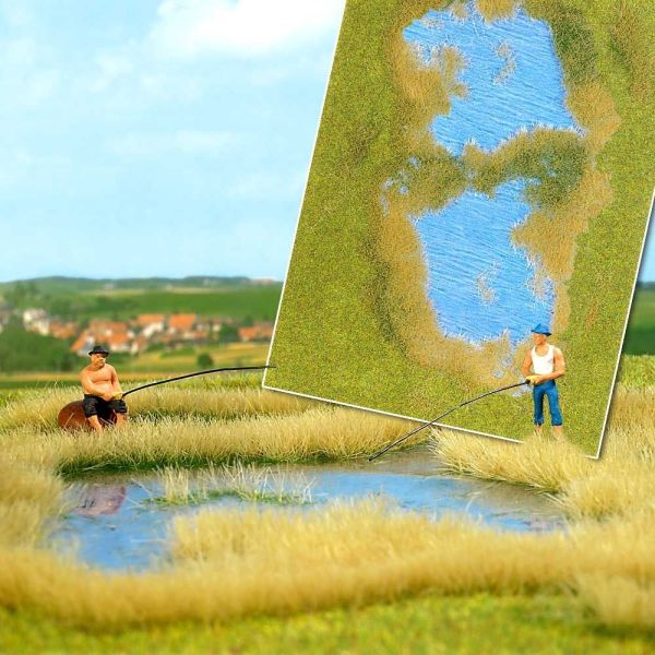»Groundcover«-Bodendecker: See mit Ufergestaltung