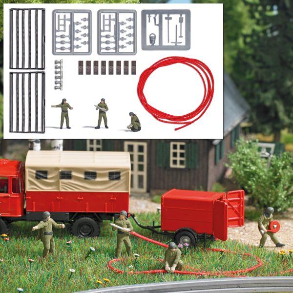 Action-Set: Feuerwehrmannschaft