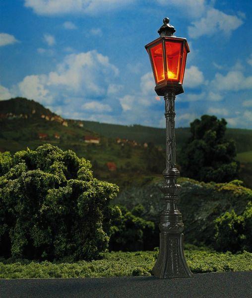 2 Oldtimer-Straßenlampen