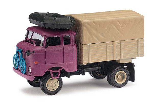 ESPEWE: IFA W50 LA, Expedition Mexiko