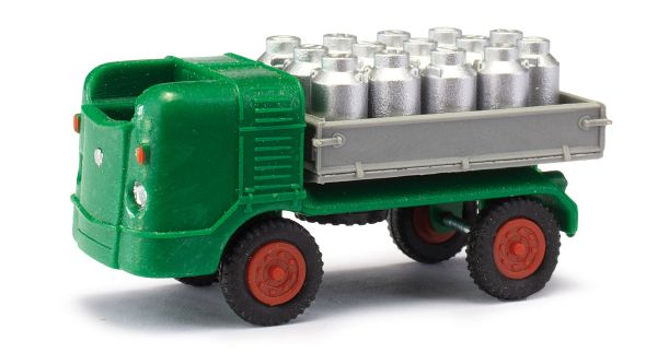 MH: Multicar M21 mit Milchkannen