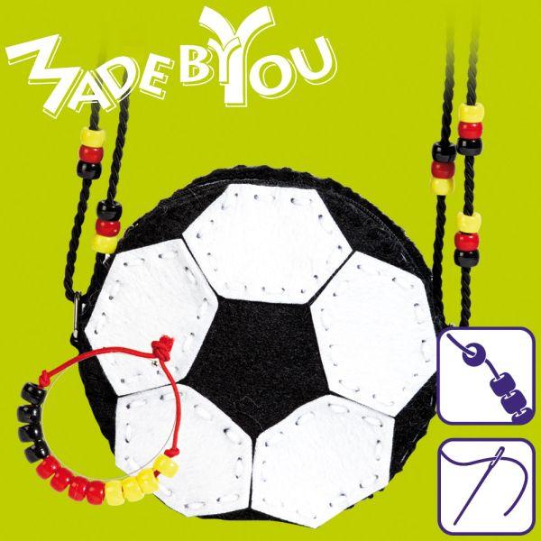 Fußballtasche mit Armband