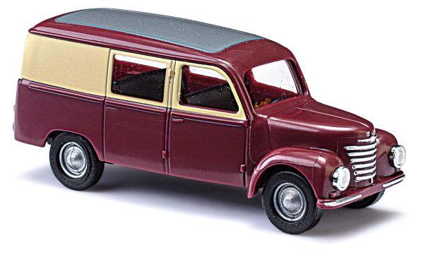 Framo V901/2 Halbbus, Weinrot/Elfenbein