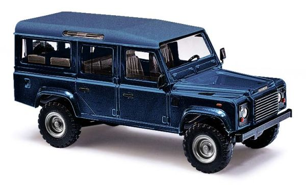 Land Rover Defender »Metallica«, Blau