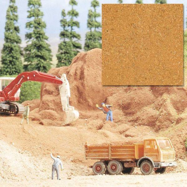 Sand lehmfarbig