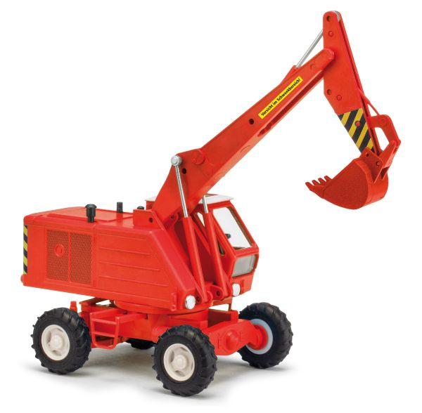 Mobilbagger T174-2 mit Tieflöffel, Rot