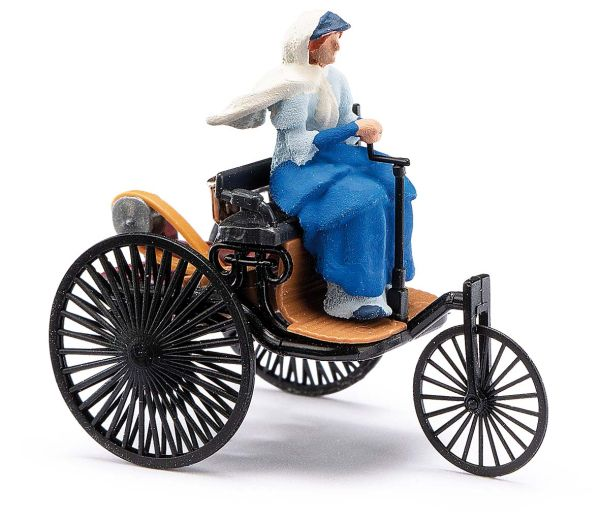 Benz-Patent-Motorwagen mit Bertha Benz