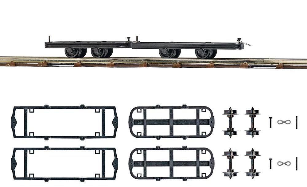 zwei fahrwerke zum umbauen feldbahn lokomotiven wagen. Black Bedroom Furniture Sets. Home Design Ideas