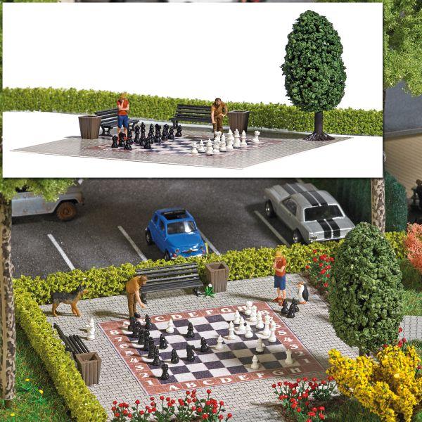 Action-Set: Gartenschach