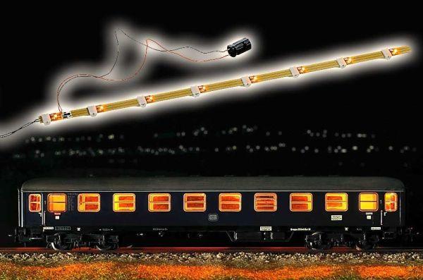 Wageninnenbeleuchtung mit Antiflacker-Elektronik