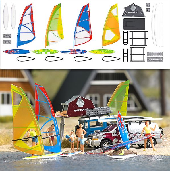 Windsurfer-Set