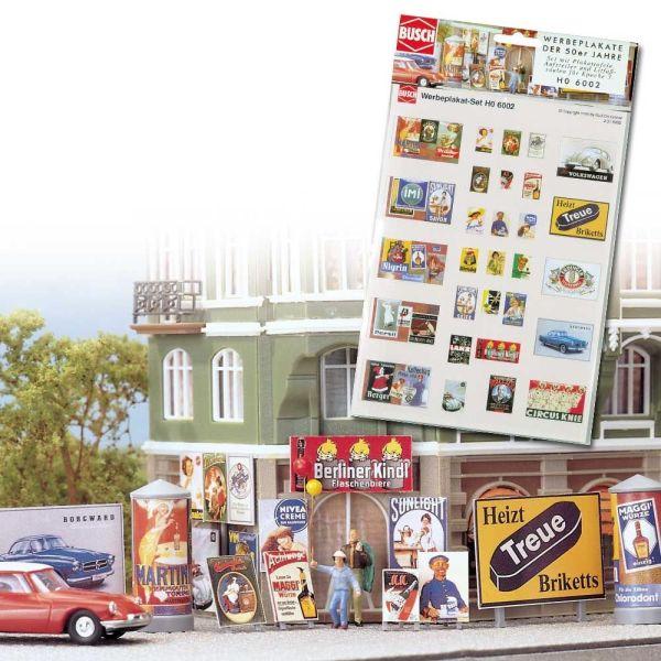 Werbeplakat-Set Epoche 3