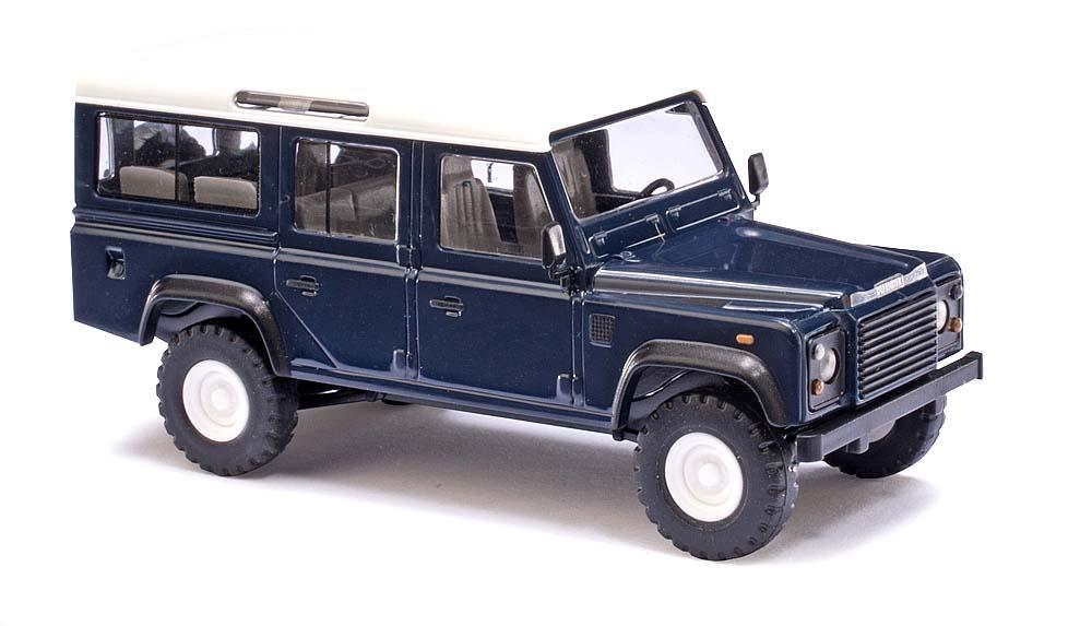 land rover defender blau automodelle pkws katalog automodelle busch modellbau. Black Bedroom Furniture Sets. Home Design Ideas