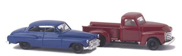Chevrolet Pick-up und Buick '50