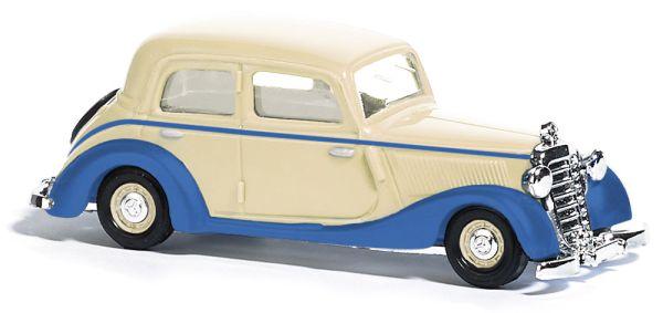 Mercedes 170V Zweifarbig, Creme/Blau