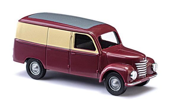 Framo V901/2 Kastenwagen Weinrot