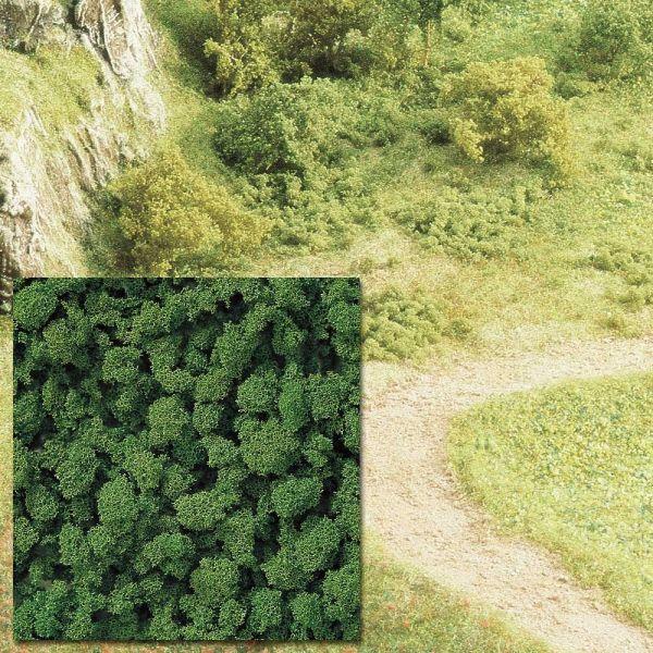 Schaumstoff-Flocken mittelgrün